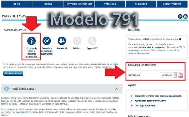 modelo 791